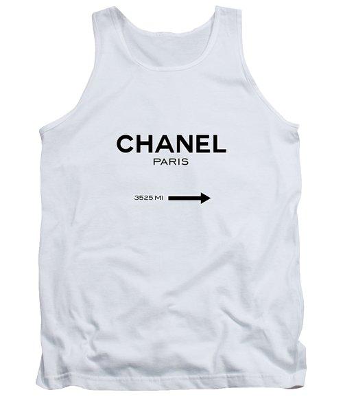 Chanel Paris Tank Top