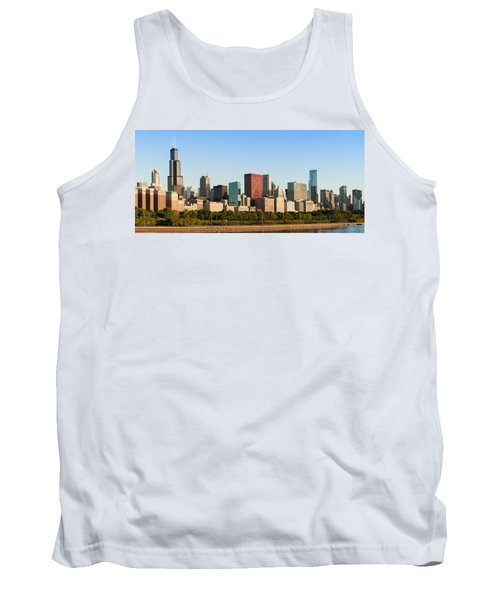 Chicago Downtown At Sunrise Tank Top
