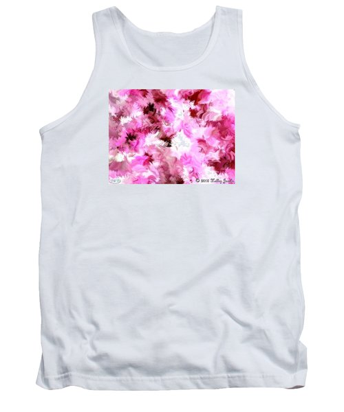 Tank Top featuring the painting Chillin It by Holley Jacobs