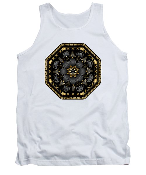 Circularium No. 2616 Tank Top by Alan Bennington