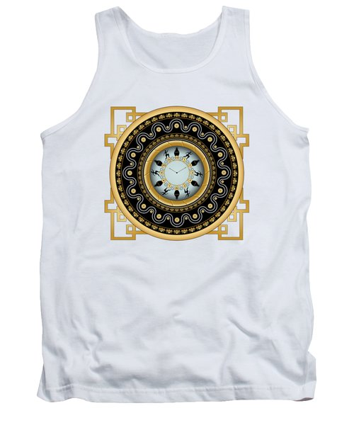 Circularium No 2653 Tank Top by Alan Bennington