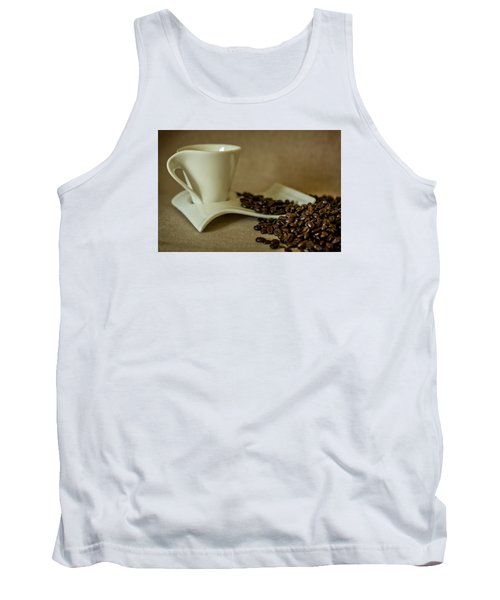 Tank Top featuring the photograph Coffee Time by Sabine Edrissi