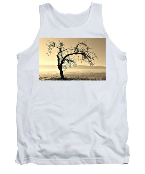 cold Winter day.... Tank Top