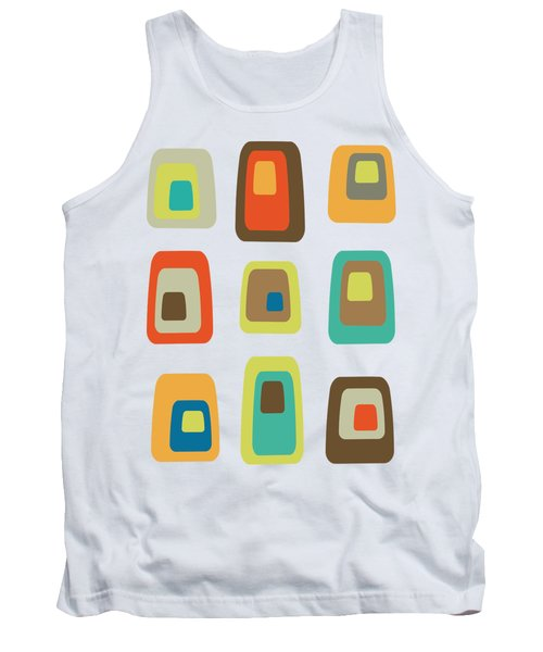 Concentric Oblongs  Tank Top