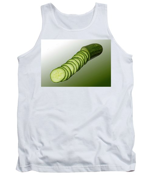 Cool As A Cucumber Slices Tank Top