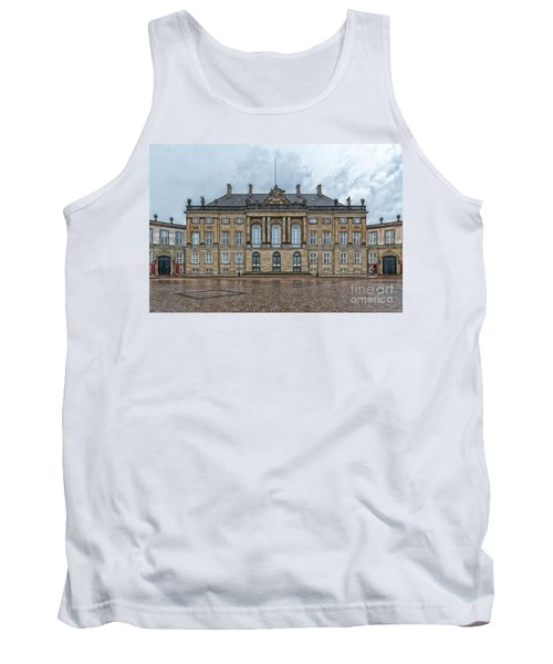 Tank Top featuring the photograph Copenhagen Amalienborg Palace by Antony McAulay