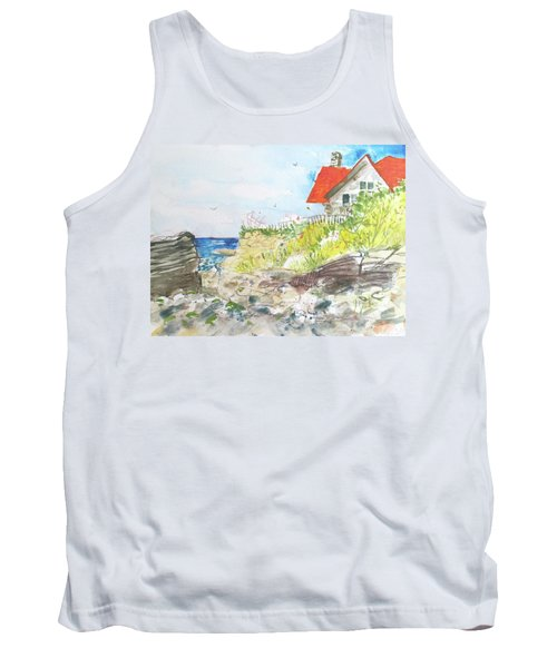 Cornfield Point Old Saybrook Tank Top