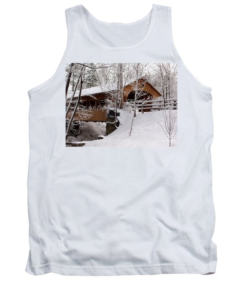 Covered Bridge At Olmsted Falls - 2 Tank Top