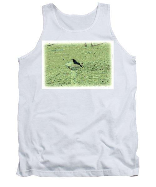 Crow And Bath Tank Top