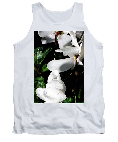 Tank Top featuring the photograph Cyclamen by Mindy Newman