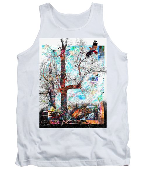 Dead Tree And Crow Tank Top