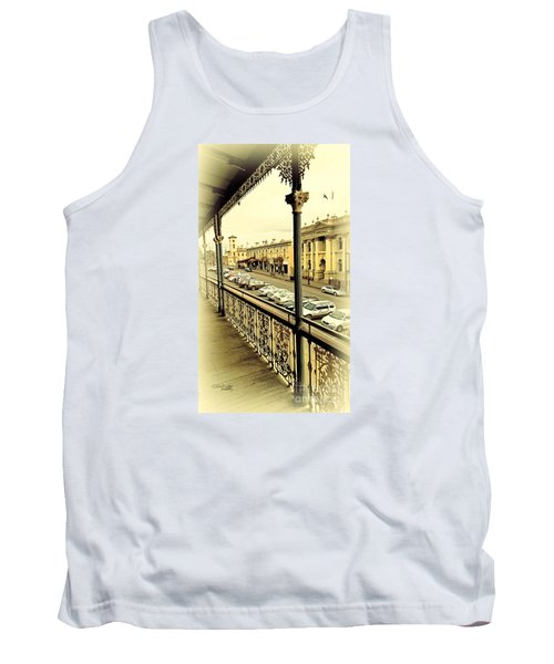 Tank Top featuring the photograph Downtown Daylesford II by Chris Armytage