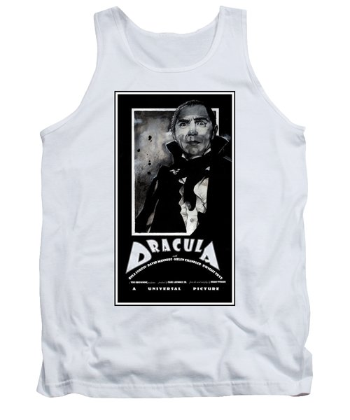 Dracula Movie Poster 1931 Tank Top
