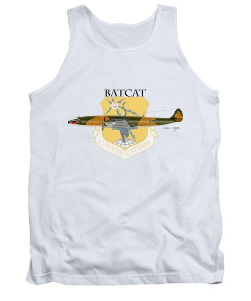 Ec-121r Batcat 6721498 Tank Top