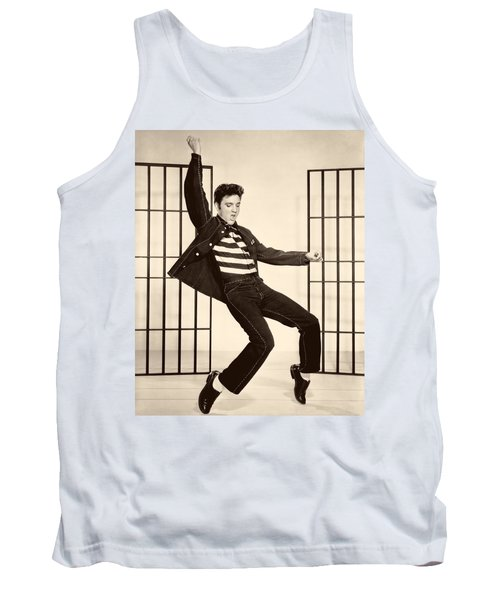 Elvis Presley In Jailhouse Rock 1957 Tank Top