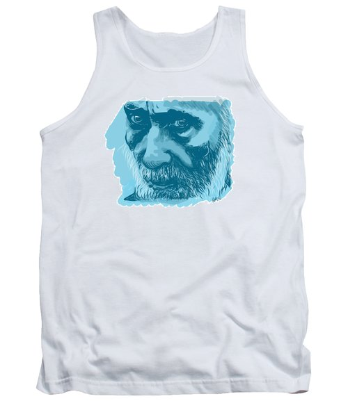 Tank Top featuring the drawing Eyes by Antonio Romero