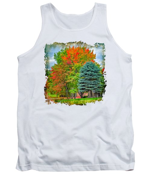 Fall Colors Tank Top by John M Bailey
