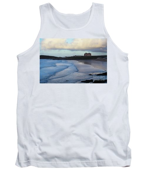 Tank Top featuring the photograph Fistral Beach by Nicholas Burningham