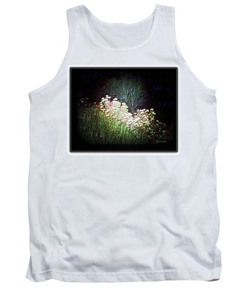 Flowers At Night Tank Top