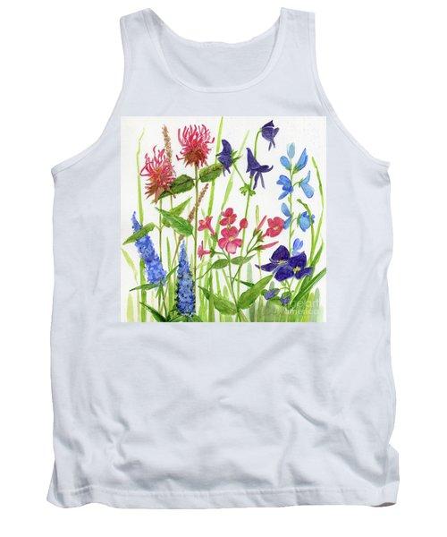 Garden Flowers Tank Top