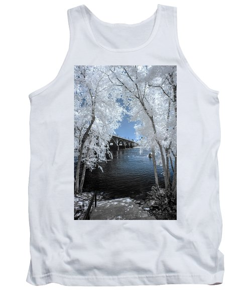 Gervais St. Bridge In Surreal Light Tank Top