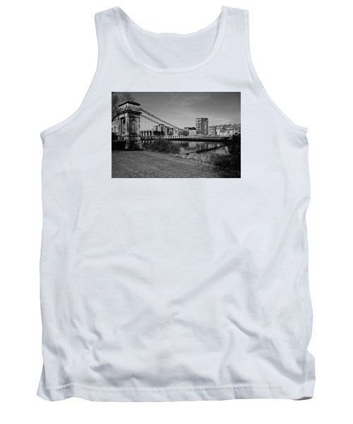 Tank Top featuring the photograph Glasgow by Jeremy Lavender Photography