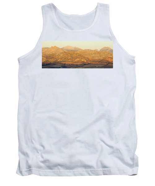 Golden Light In Andalusia Tank Top