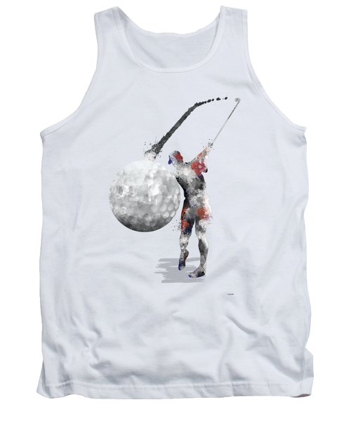 Golf Player Tank Top