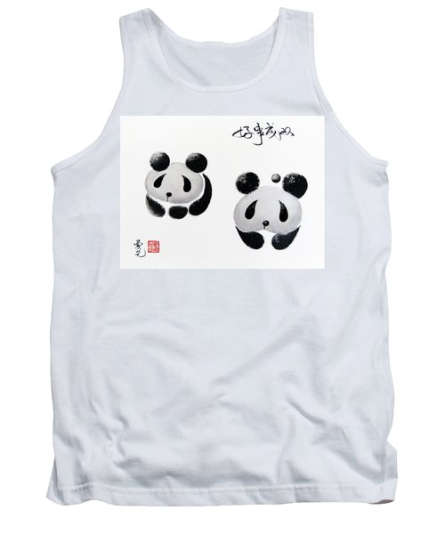 Good Things Come In Pairs Tank Top by Oiyee At Oystudio