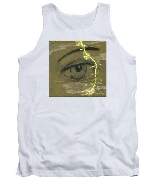 Green Eyes Tank Top