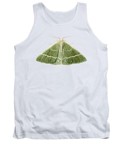 Green Moth Chlorissa Etruscaria Tank Top
