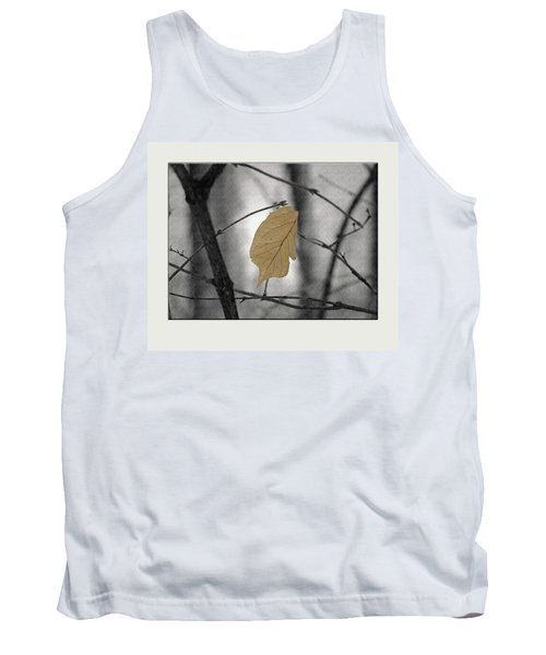 Hanging In The Balance Tank Top by Sue Stefanowicz