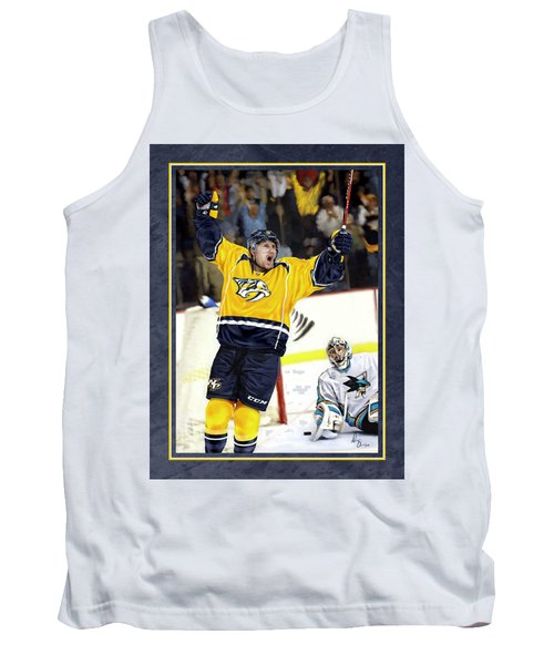 Tank Top featuring the photograph He Shoots He Scores by Don Olea