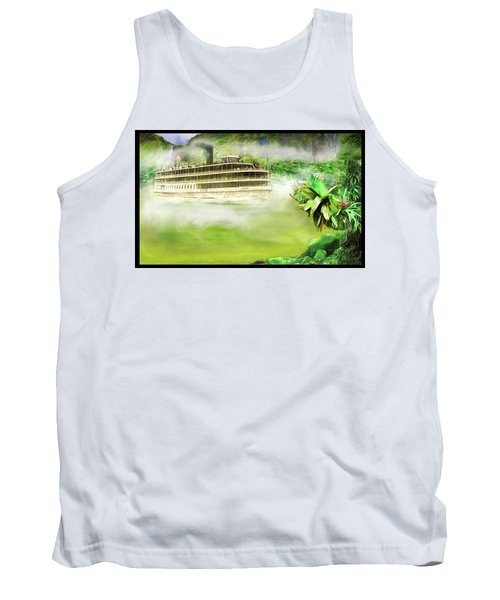 Heart Of Darkness Tank Top by Michael Cleere