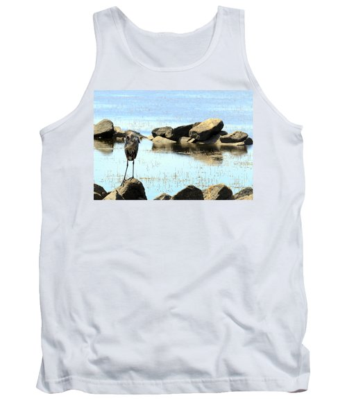 Heron On The Rocks Tank Top