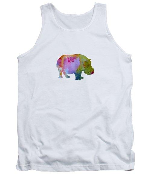 Hippopotamus Tank Top