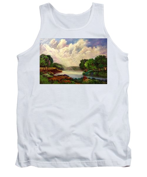 His Divine Creation Tank Top by Randy Burns