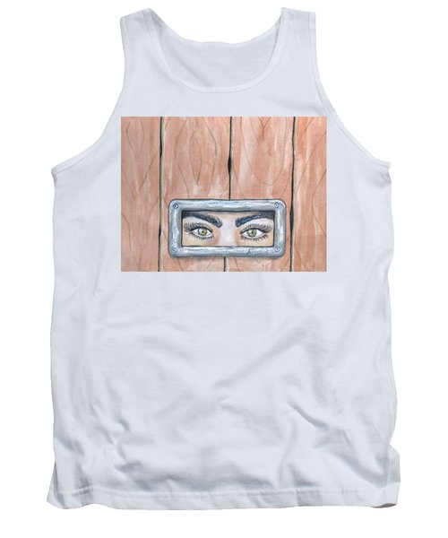 I See You Tank Top by Edwin Alverio