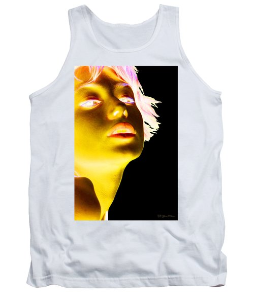 Inverted Realities - Yellow  Tank Top