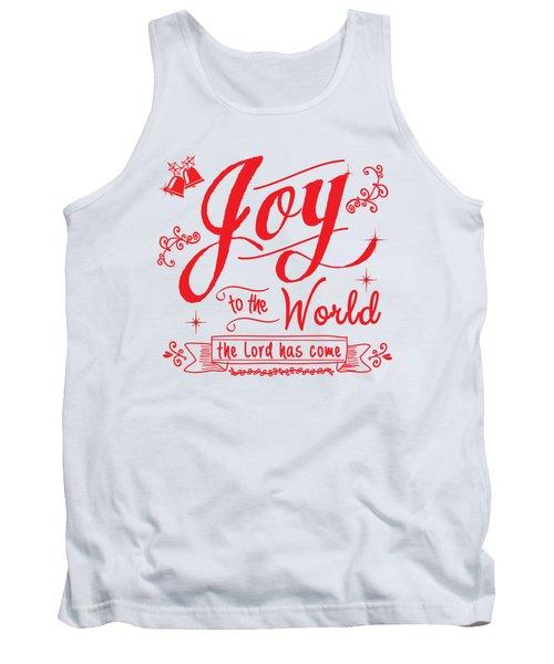 Joy To The World Tank Top