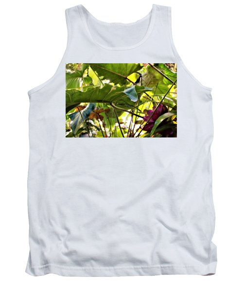 Tank Top featuring the photograph Jungle Jive by Mindy Newman