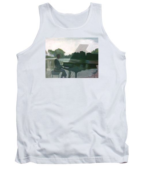 Justin Levitt Steinway Piano Spreckles Lake Tank Top