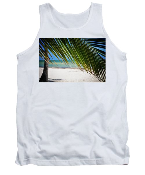 Tank Top featuring the photograph Key West Palm by Kelly Wade
