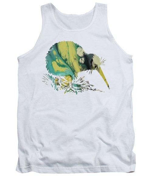 Kiwi Bird Tank Top by Mordax Furittus