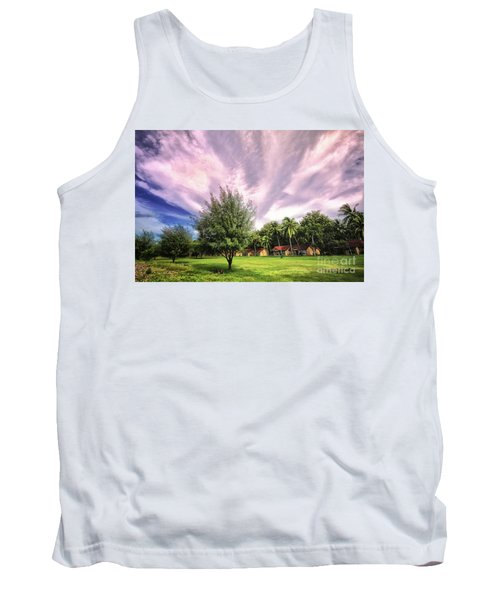 Tank Top featuring the photograph Landscape  by Charuhas Images