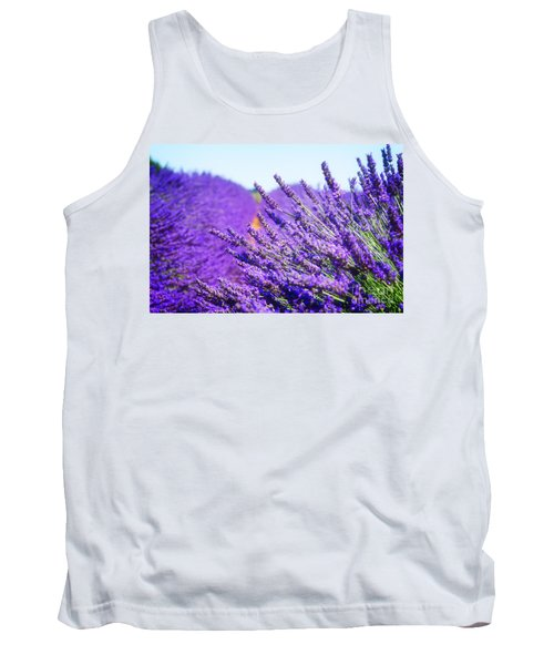 Lavender Field Tank Top