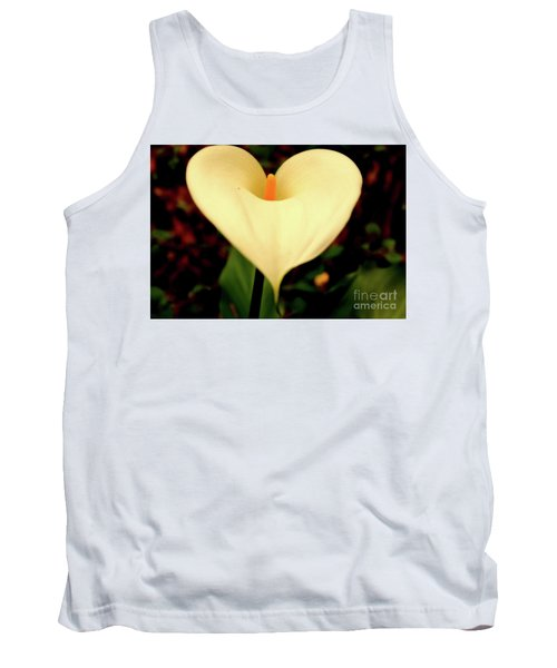 Lily Of The Valley Tank Top by Cassandra Buckley