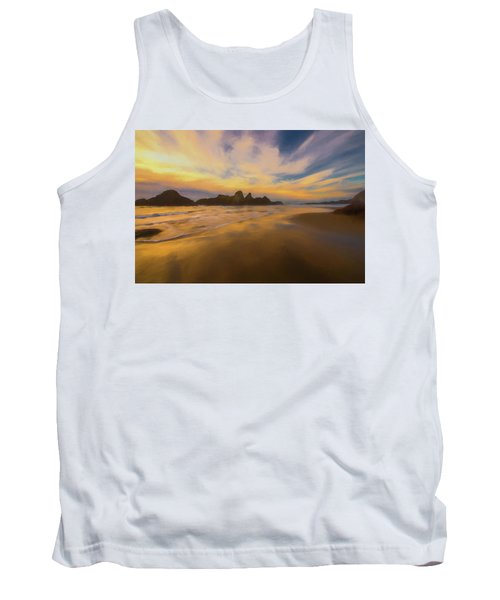 Lines In The Sand Tank Top