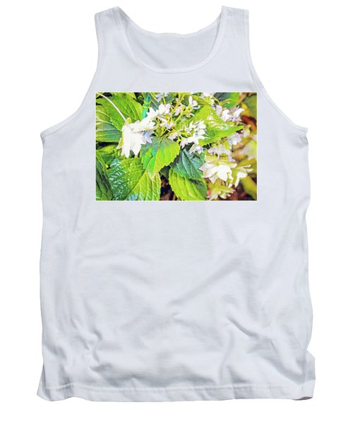 Tank Top featuring the photograph Little Orchids by Mindy Newman