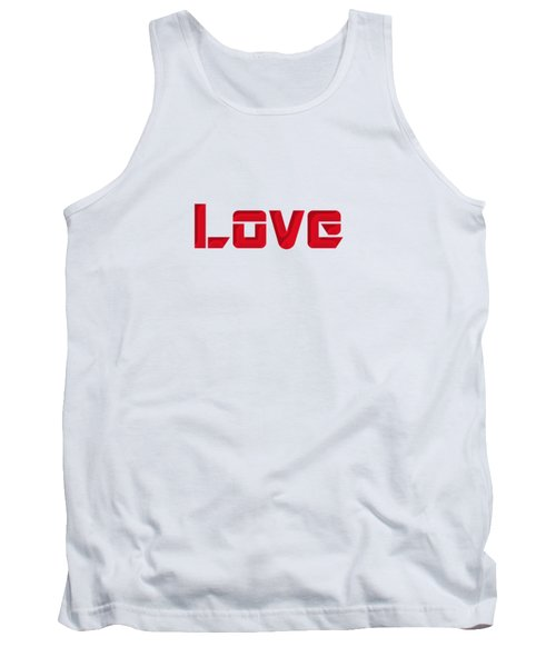 Love Tank Top by Mim White